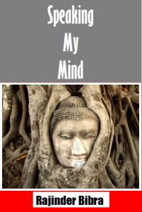 Book Cover: Speaking My Mind