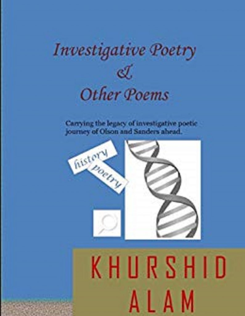 Book Cover: Investigative Poetry & Other Poems
